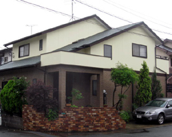 筑紫野市上古賀S邸 住宅壁・屋根塗装 アフター