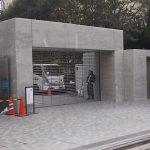 【福岡市中央区】コンクリート打ち放し仕上工事(木目調模様)